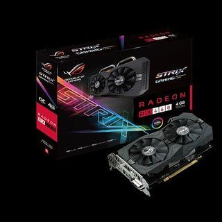 tarjeta grafica AMD rx 460