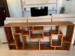 Estantería librería de madera