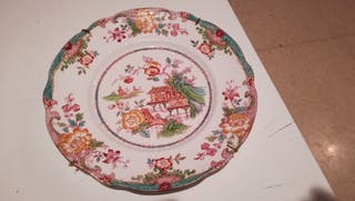 Plato decoración inglés