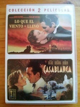 Pack Lo Que El Viento Se Llevó + Casablanca