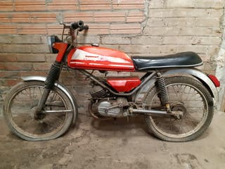 moto antigua Derbi