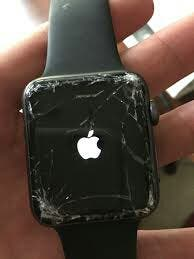 Apple watch serie 1 2 3 4 5 reparación cristal