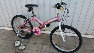 bici para niños/as plegable