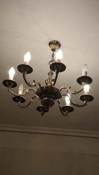 Lámpara araña