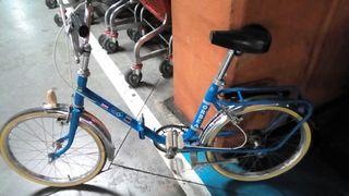 Bicicleta Orbea plegable clasica