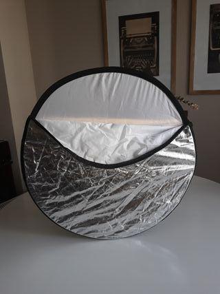 Reflector de luz plegable redondo