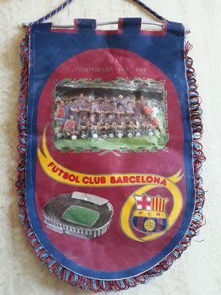 Barcelona banderin Antiguo