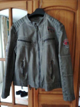 chaqueta de temporada de polipiel