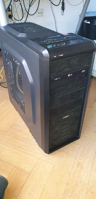 Ordenador sobremesa AMD A10 con SSD, Windows 10 Pr