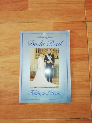 album de fotos boda real