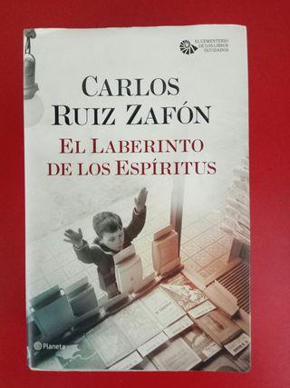 El laberinto de los espiritus, Carlos Ruiz Zafón