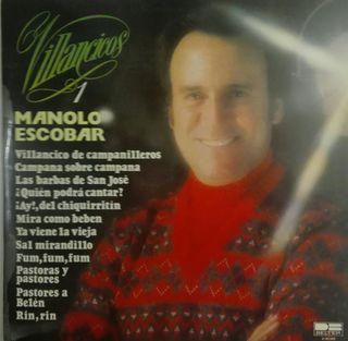 Manolo Escobar. Villancicos- Vinilo LP.
