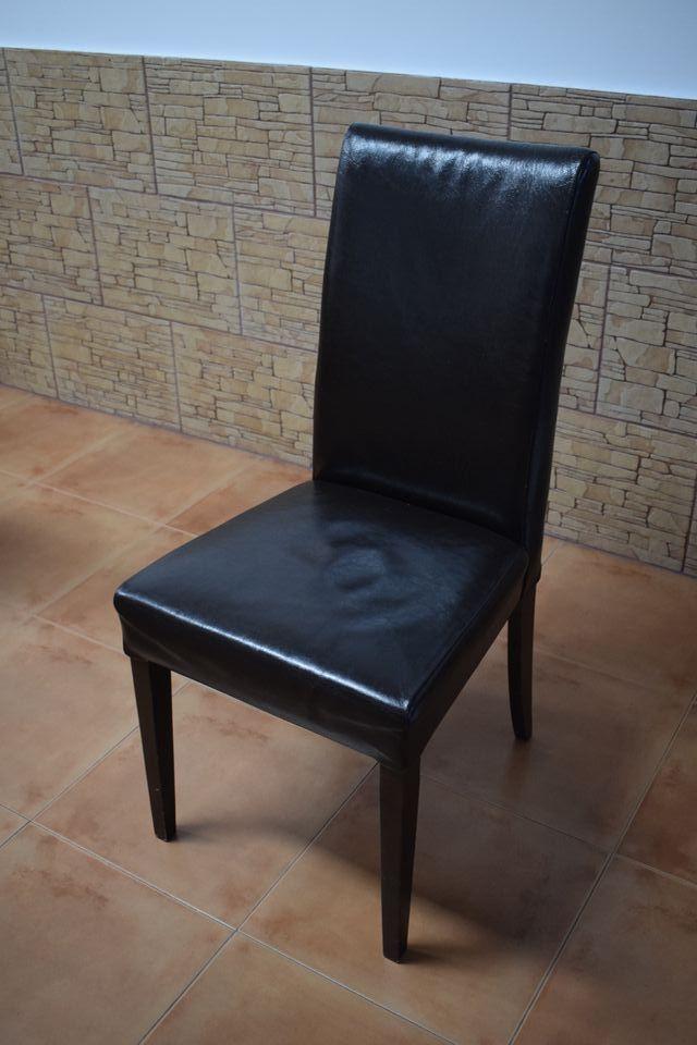 6 sillas de piel para comedor de segunda mano por 240 € en Torrent ...