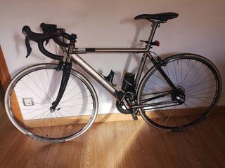 bicicleta carretera estilo clásica, talla 50