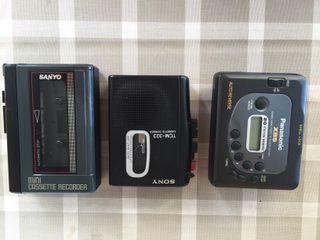 Reproductores Cassetes portátiles