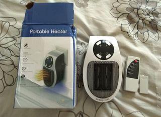 Calefactor electrico regulable con mando distancia