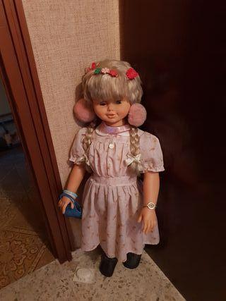 Muñeca antigua rosaura años 70 80