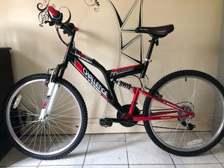 Red & Black 26 inches dual suspension Bike