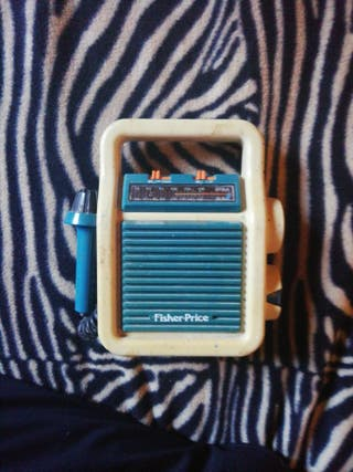 Radio Fisher price