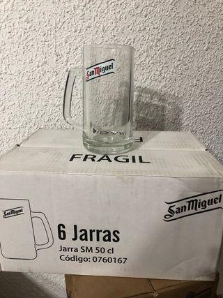 Jarra 1/2 litro san Miguel