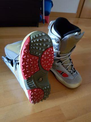 botas de snow.