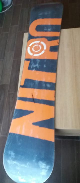 Tabla snow nitro 154 cm largo