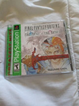 Final Fantasy Origins psx ps1