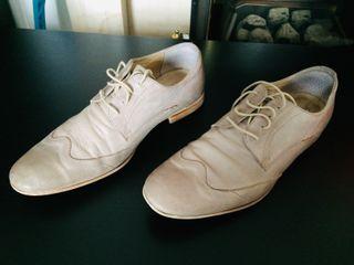 Men leather shoes Benvenuti - size UK 9.5 / EU 43