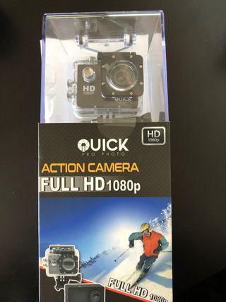 Cámara Quick pro FULL HD 1080p nueva