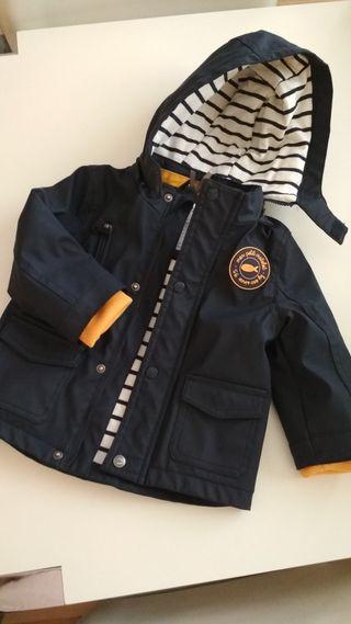 chaqueta entre tiempo niño talla 18 meses