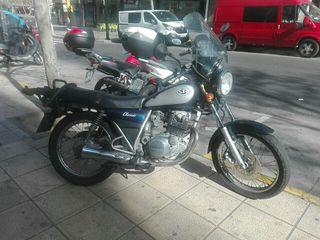 moto JAMAHA 250 SR CLASIC