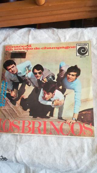 vinilo de Los Brincos de 1966
