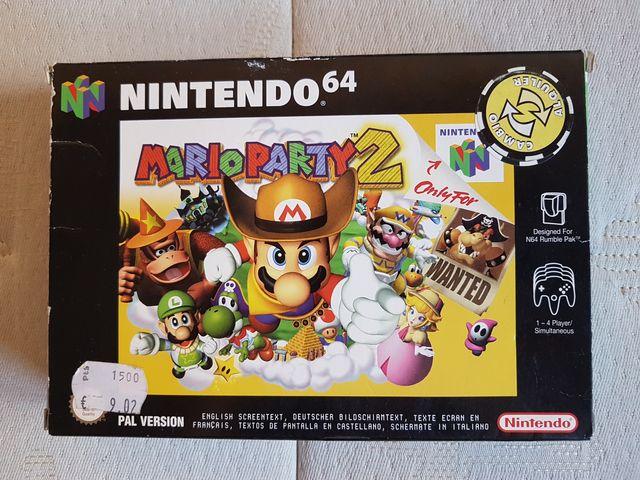 Mario Party 2 Nintendo 64