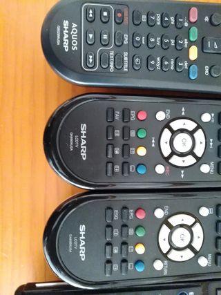 Mandos a distancia de TV Sharp