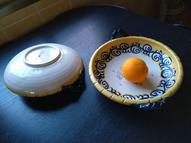 Platos cerámica rústica Talavera