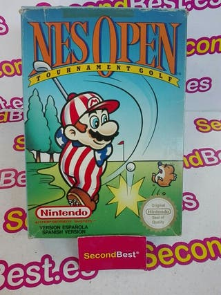 Juego Nes Open Tourbament Golf Nintendo Nes