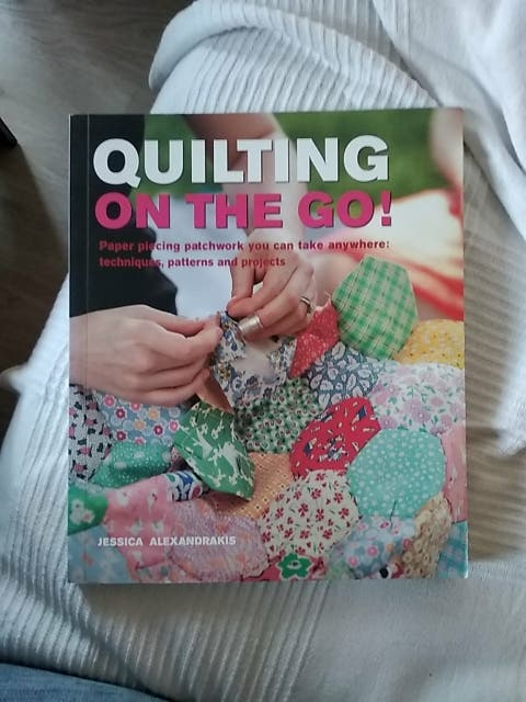 Libro de patchwork Quilting on the go