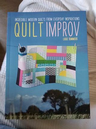 Libro Patchwork Quilt Improv