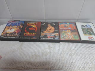 Lote de juegos Sega Megadrive