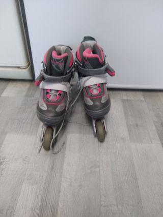 patines en linea niña número 30-33