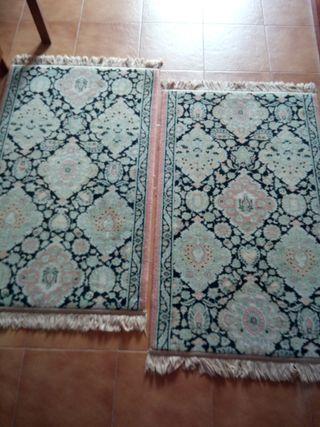Dos alfombras de lana