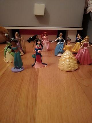 Conjunto figuras Princesas Disney