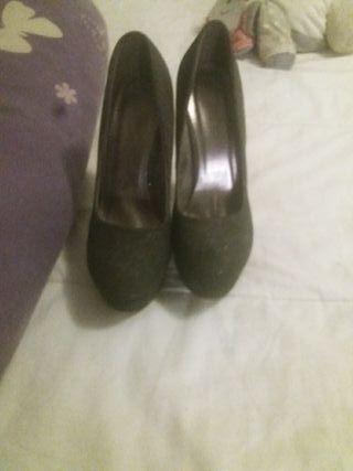 Zapatos plataforma.talla 38