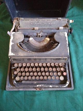 Máquina de escribir vintage
