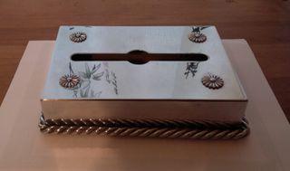 Boîte de mouchoirs aluminium