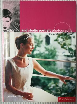 Libro de fotografía, retrato,boda, estudio
