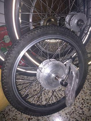 ruedas bicicleta eléctrica