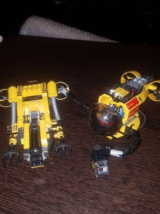 Lego, submarinos