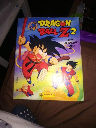 album de cromos dragon Ball Z 2