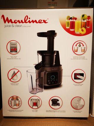 Moulinex Licuadora Prensado En Frío